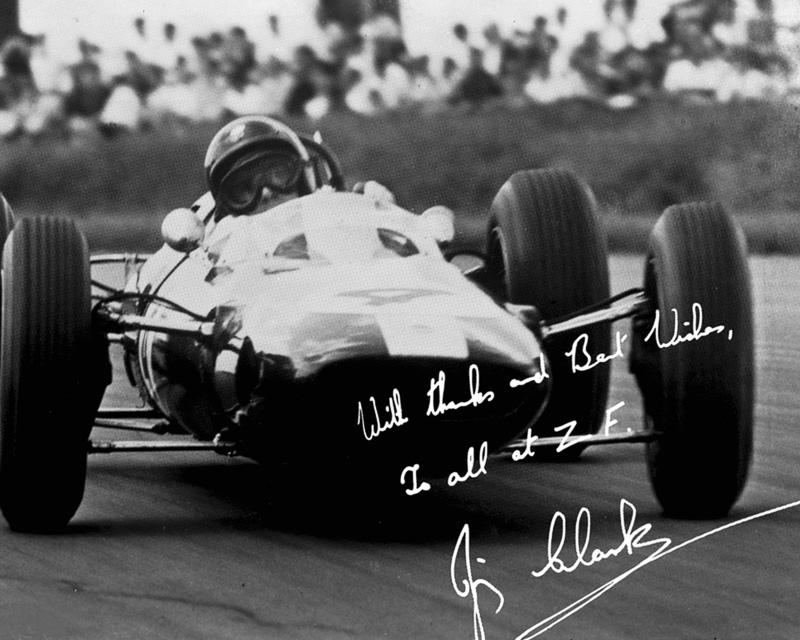 イギリスの名門レーシングチームである「チーム ロータス」の創立者、コーリン・チャップマン氏からF1マシン用のトランスミッションについて依頼されて製造している