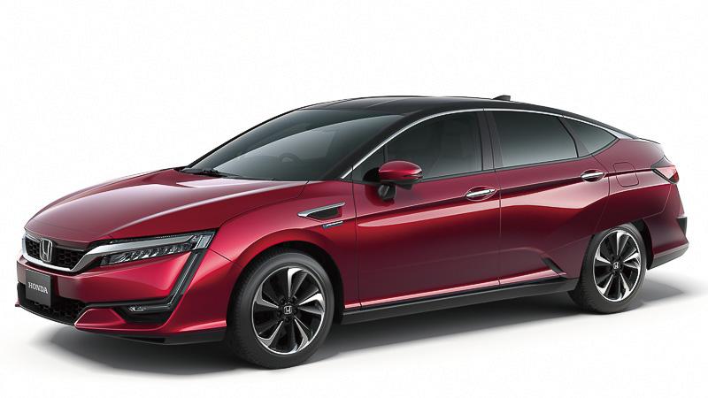 東京モーターショー2015でワールドプレミアされる新型燃料電池車「FCV(仮称)」も展示する