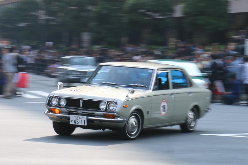 1970年式のトヨタ「コロナ マークII 1700 デラックス」