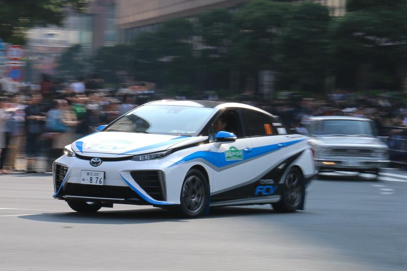 「新城ラリー2014」の00カーとしても活躍した2014年式のトヨタ「トヨタ FCV ラリー」