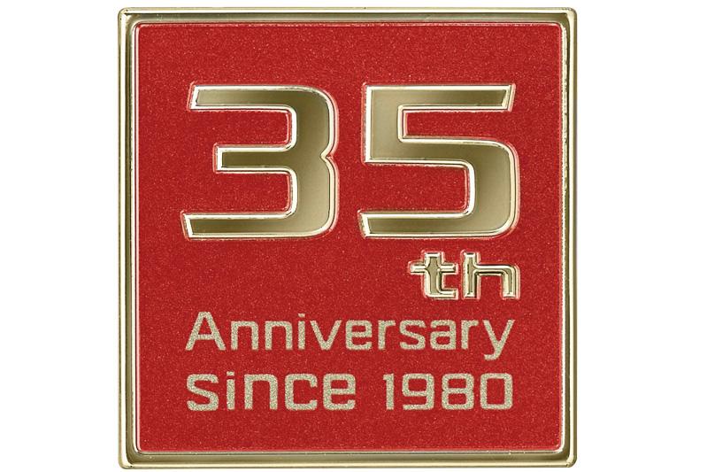35thアニバーサリーエンブレム