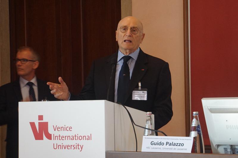 ヴェネツィア国際大学 学長 ウンベルト・ヴァッターニ氏