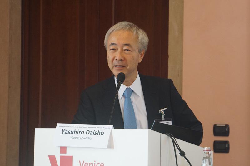 早稲田大学 理工学部 大聖泰弘教授