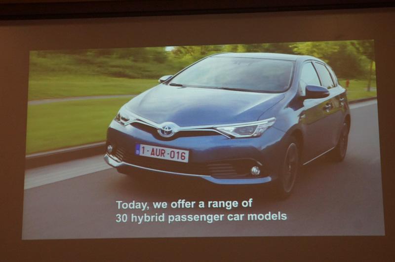すでに30車種ものハイブリッドカーを市場投入
