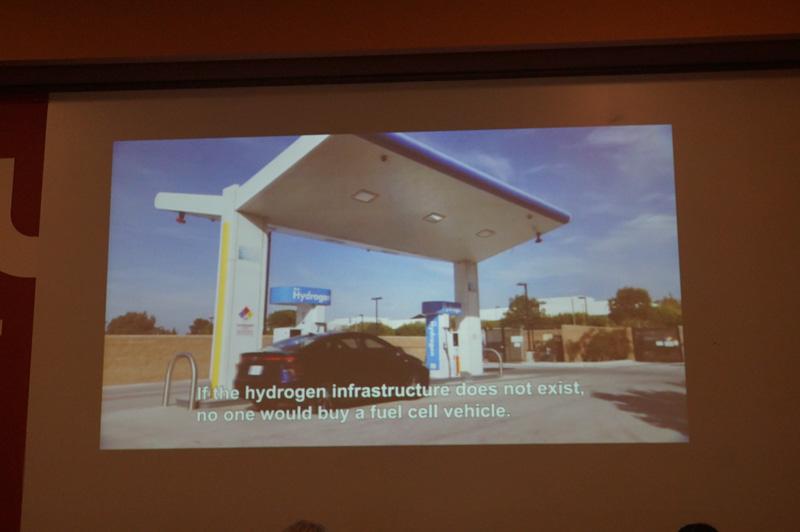 水素ステーションや特許の開放などインフラの取り組みも行っている