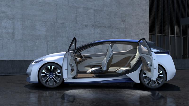 未来のEVと自動運転を具現化したコンセプトカー「Nissan IDS Concept」