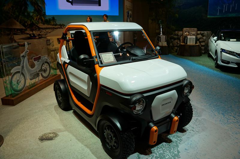 2人乗りの小型EVとなるHonda MBEV Concept