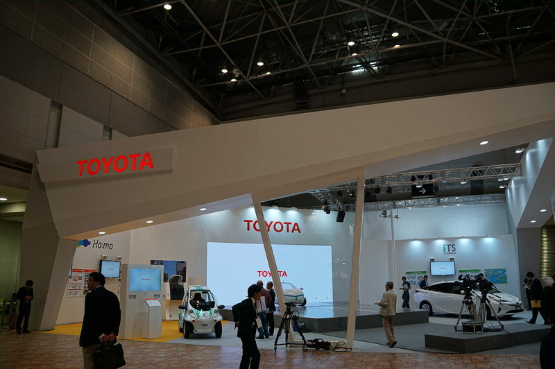 SMART MOBILITY CITY 2015のトヨタブース