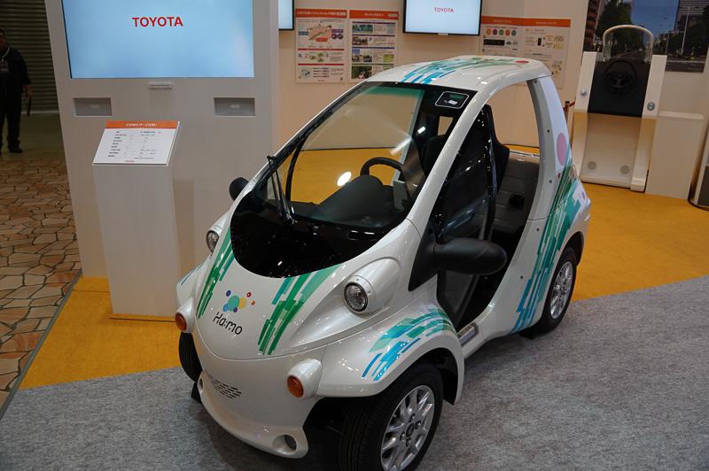 トヨタの小型自動車COMS