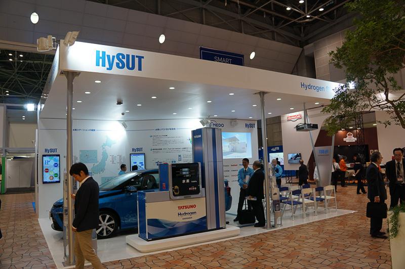 HySUT(水素供給・利用技術研究組合)は水素ステーションの仕組みなどを紹介