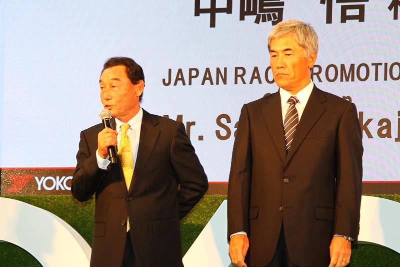 スーパーフォーミュラを運営する日本レースプロモーションの中嶋悟氏は「ヨコハマファンとともにスーパーフォーミュラが益々盛んになり、見て喜んでもらえるレースを行ないたい」と語っていた