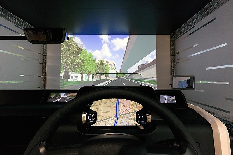 運転席からの眺め
