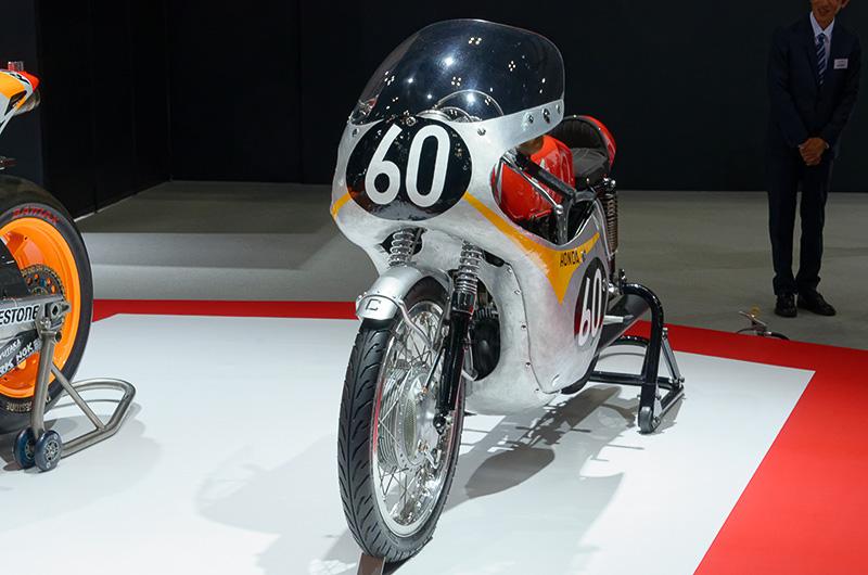 世界選手権ロードレースの125ccクラスで初優勝を飾った時のマシン