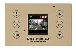 本体背面に1.41インチフルカラーTFT液晶ディスプレイを用意。録画状況などを気軽に確認できる
