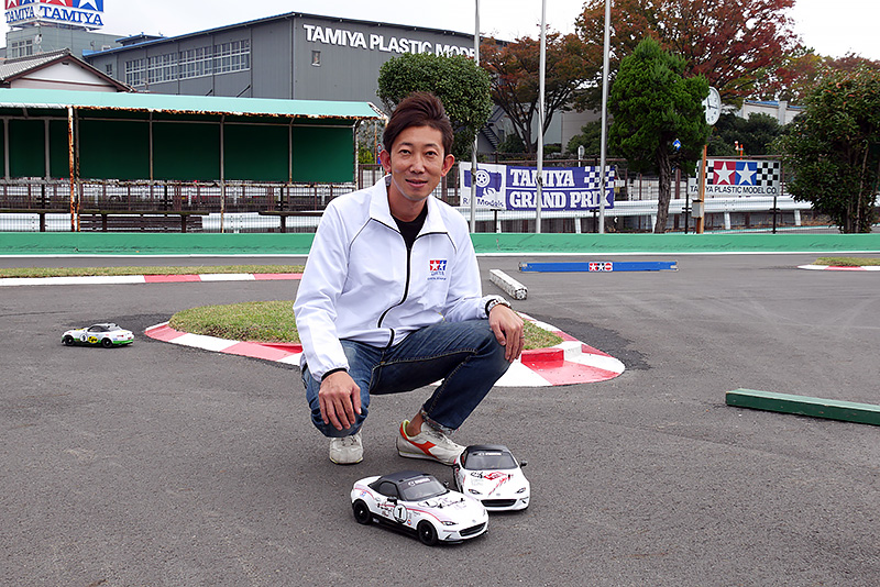 TRF前住諭氏と記念写真