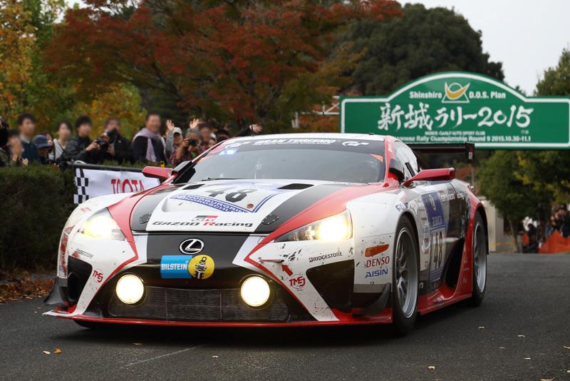 デモランや同乗走行も多く、2日目の11月1日にはトヨタの豊田章男社長もLFA(ニュルブルクリンク参戦車両)をドライブした