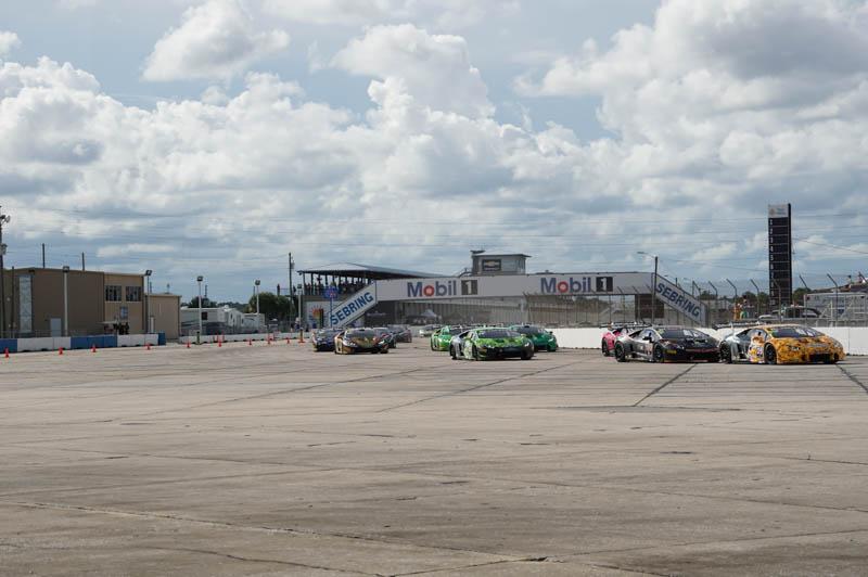 ランボルギーニ・ブランパン・スーパートロフェオ セブリング ワールドファイナル 2015レースの様子