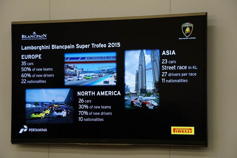 ブランパン・スーパートロフェオへの参加台数は毎年増え続けており、注目のシリーズとなりつつある
