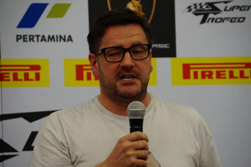 F1でもおなじみ、みピレリ モータースポーツ部長 ポール・ヘンベリー氏