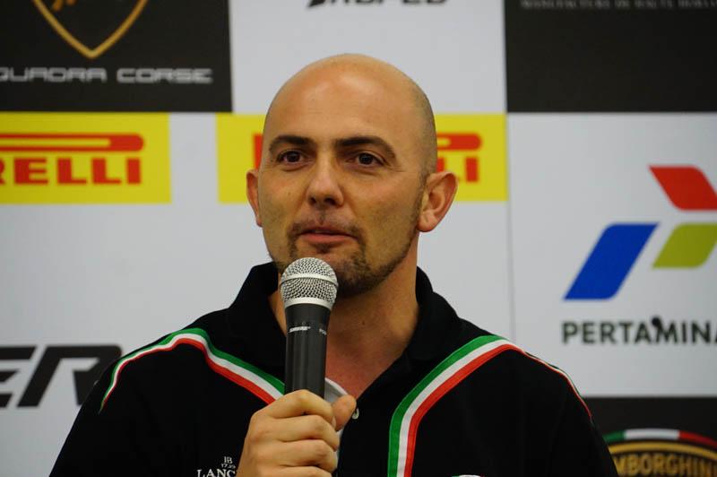 ランボルギーニ モータースポーツ責任者 ジョルジオ・サンナ氏