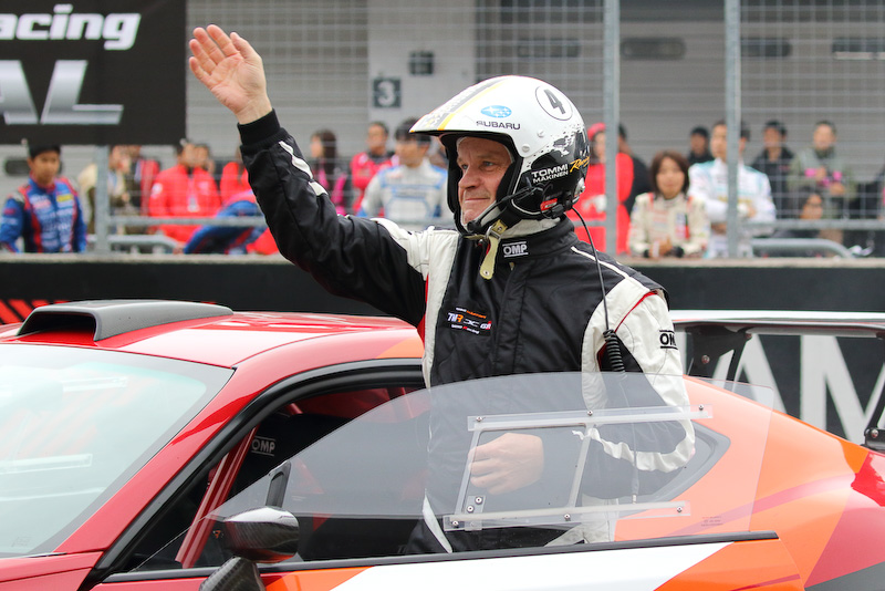 GAZOO Racingの育成プログラムを担うトミ・マキネン氏