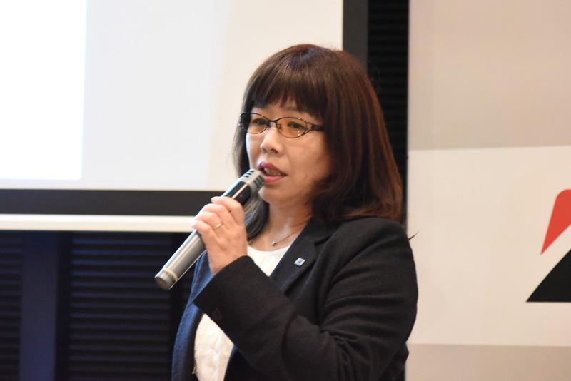 ブリヂストン中央研究所 渡辺訓江氏