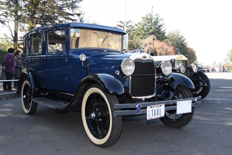 トラブルのため展示のみとなってしまったのはフォード モデルA(1929年 アメリカ)