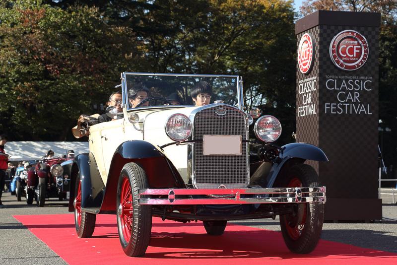 慶応大学体育会自動車部のフォード モデルAフェートン(1931年 アメリカ)は日本でノックダウン生産された1台