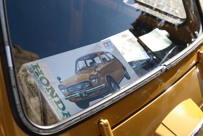 新車で購入し今に至るという ホンダNⅢ360