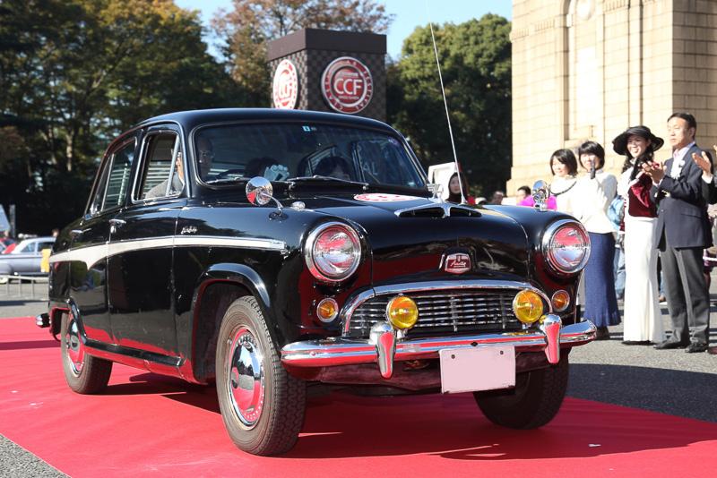 オースチンA50ケンブリッジ(1959年 日本)は日産がノックダウン生産していたモデル