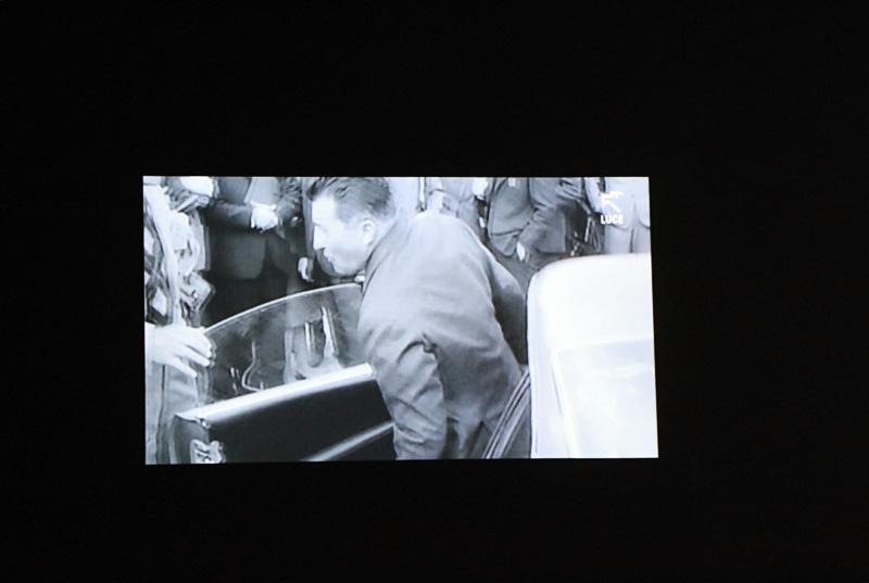 40代後半以上のクルマ好きなら知っている「イオタ」や生産現場の映像、レースシーンなども収められていたムービー。3分程度のムービーであったが十分に見応えのあるもの