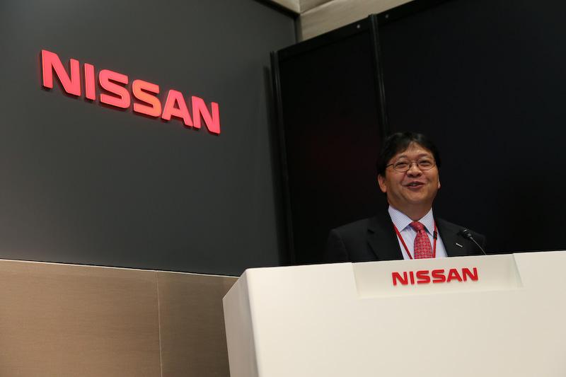 NISMO(ニッサン・モータースポーツ・インターナショナル)最高執行責任者の松村基宏氏