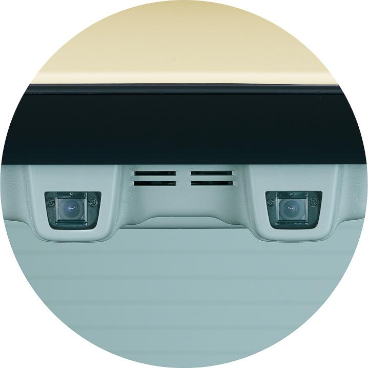 スペーシアの「デュアルカメラブレーキサポート」装着車は、JNCAP予防安全性能アセスメントで46満点中45.8点を記録。最高ランク評価の「先進安全車プラス(ASV+)」を獲得した
