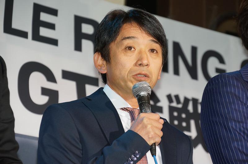 チーム監督の片山右京氏