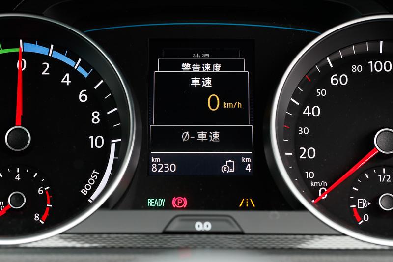 車速をデジタルで表示できる