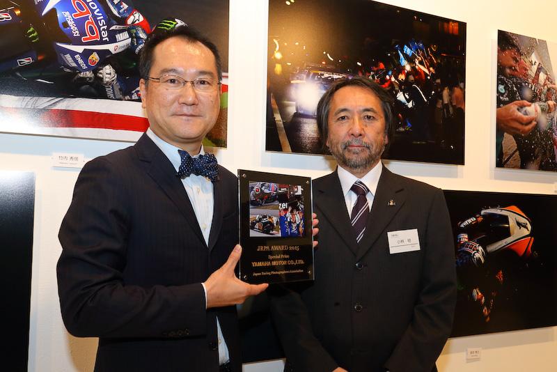堀江直人氏(写真左)、小林稔JRPA会長(写真右)