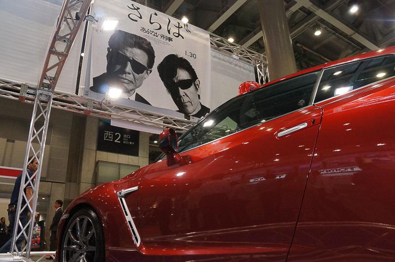 映画「さらばあぶない刑事」に登場する覆面パトカーの日産「GT-R」