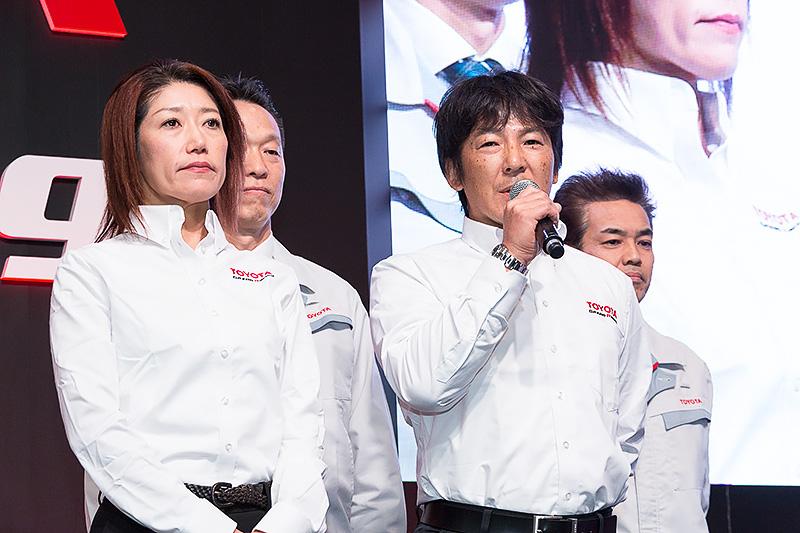 TOYOTA C-HR Racingのドライバーは影山正彦選手、佐藤久実選手ら。チーフメカニックはトヨタの大阪晃弘氏