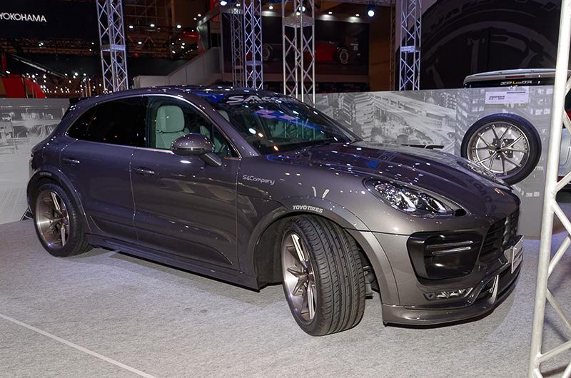 ポルシェ マカンに装着したPROXES T1 Sport SUV