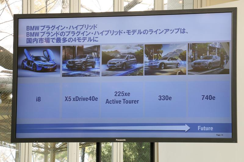 新たに2モデルを追加することで、BMWは日本市場最多のプラグインハイブリッドを持つメーカーとなる