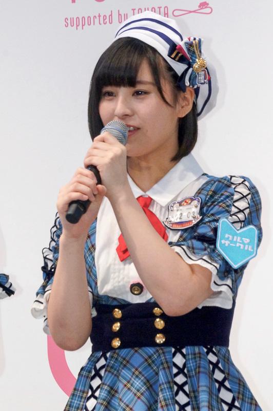 佐藤栞さん(新潟県代表)