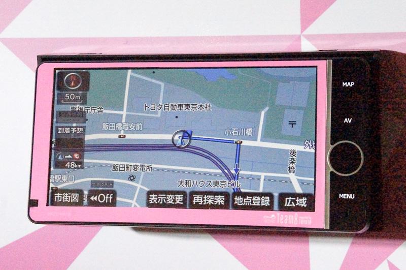 限定3300台のオリジナルカーナビ「AKB48 Team 8 ナビ(NHZD-W62G)」