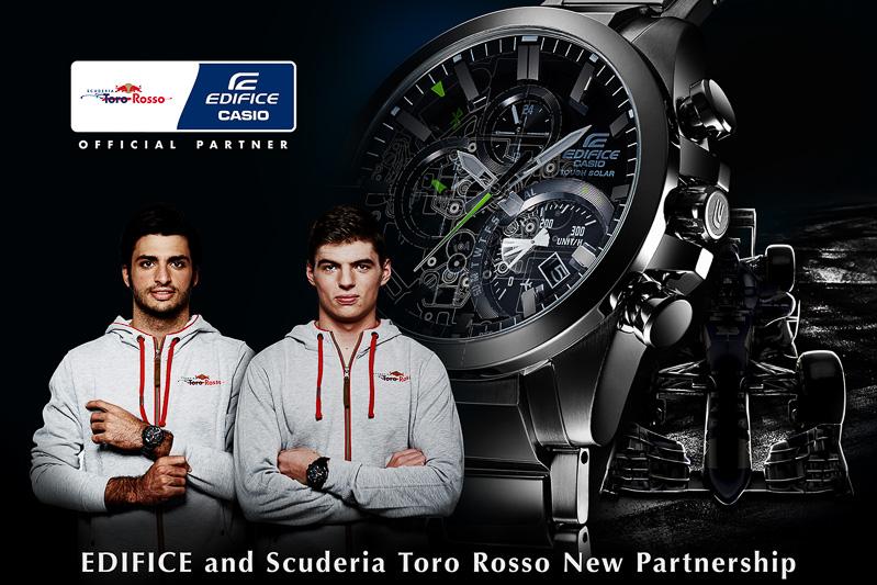 カシオとトロ・ロッソが2年間のオフィシャルパートナー契約を締結