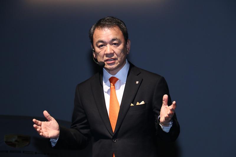 ポルシェ ジャパン株式会社 代表取締役社長 七五三木敏幸氏