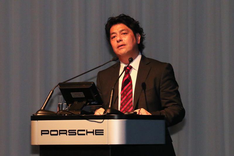 ポルシェ ジャパン株式会社 マーケティング部 ポルシェコネクト兼プロダクト&プライシング部長 都鳥清人氏