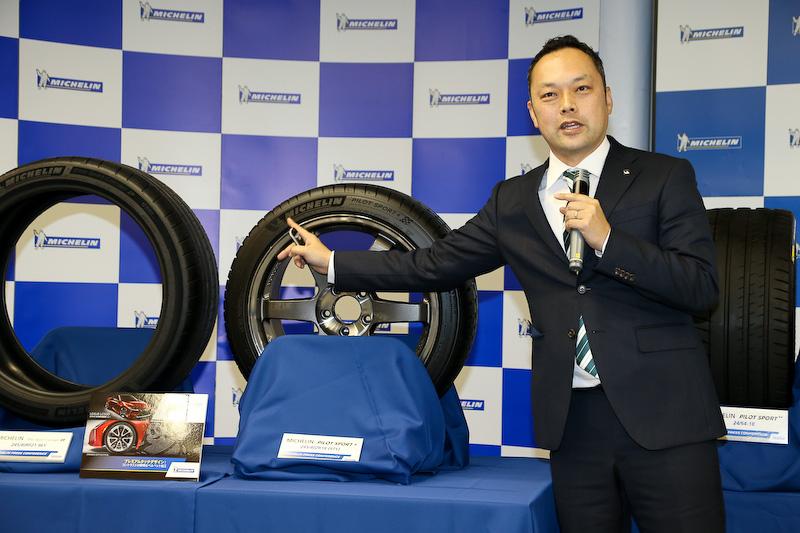 日本ミシュランタイヤ株式会社 PC/LTタイヤ事業部 マーケティング部 ブランド戦略マネージャーの成瀬朋伸氏
