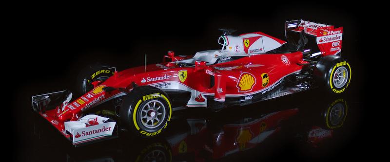 2016年のF1を戦うフェラーリのF1マシン「SF16-H」