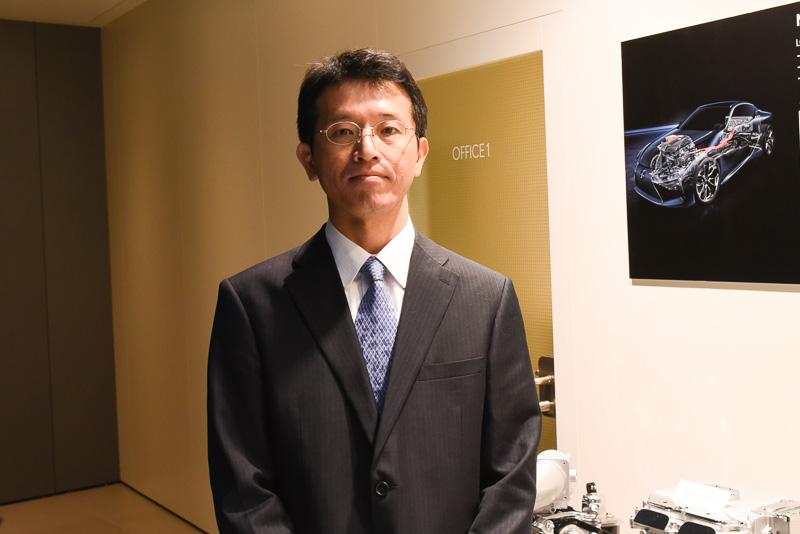 トヨタ自動車株式会社 HVシステム開発統括部 HVシステム開発室 主査 大島康嗣氏