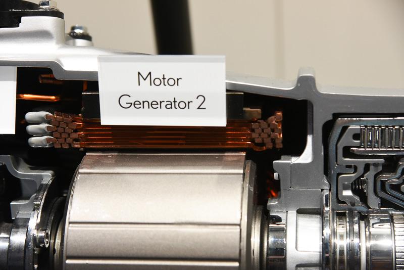 MG2のコイル部。組み立て方式