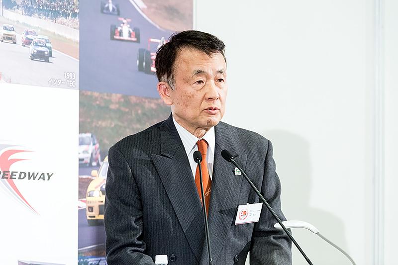 特定非営利法人 モータースポーツ推進機構 理事長 日置和夫氏